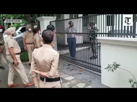 Punjab Police raid former DGP Sumedh Singh Saini's house