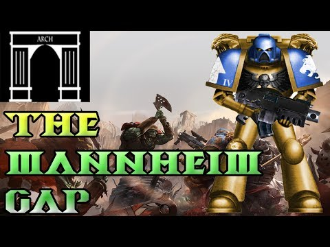 40k Lore, The War For Armageddon, 2nd Ork Invasion, The Mannheim Gap!