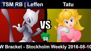 Leffen just won our weekly with Mewtwo