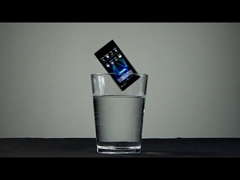 Panasonic - Waterproof Phone Test - Panasonic Eluga. We throw the phone in some water to see if it still works. Test 1: Phone in water Test 2: Skype call over wifi in wa...