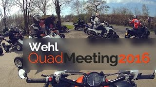 8. Quad Meeting Wehl 2016 | Yamaha Raptor 700r | GoPro