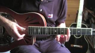 Delta Blues - Slide guitar lesson-Part 2-The Old School-Muddy Waters