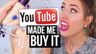 YouTube Made Me Buy it! || HYPED Makeup: Was it Worth it?!