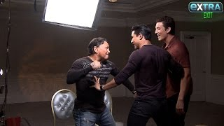 Nonton Watch! Mario Lopez Gets Accidentally Punched During Our 'Bleed For This' Junket Film Subtitle Indonesia Streaming Movie Download