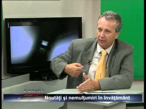"""Emisiunea """"Subiectul zilei"""" – Ion Duță – 17 septembrie 2014"""