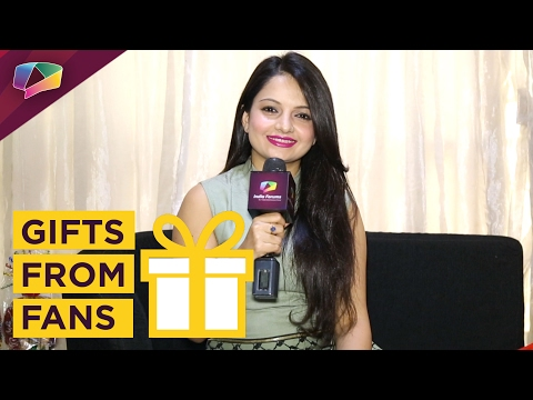 Giaa Manek Receives Birthday Gifts From Her Fans