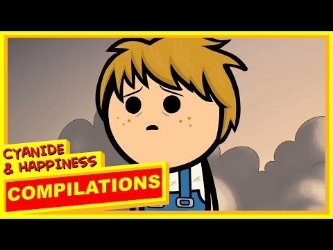 Cyanide & Happiness Compilation - #18 (видео)