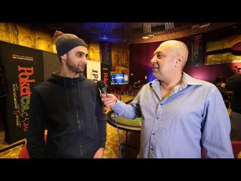 Marius Gicovanu – IPC Poker Tour București 2018