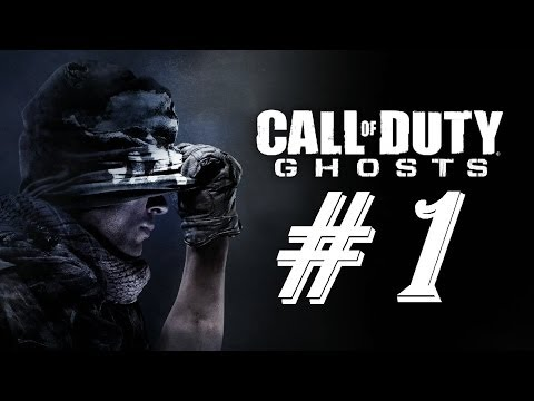 Call of Duty Ghosts 1080p HD Gameplay Walkthrough Episode 1 - Brave New World - We Have A Dog