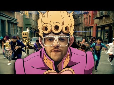 Giorno's Theme but Party Rock is in the house tonight