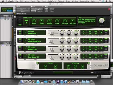 Avid Pro Tools 10 Tutorial | Comparing MIDI tracks and Instrument Tracks