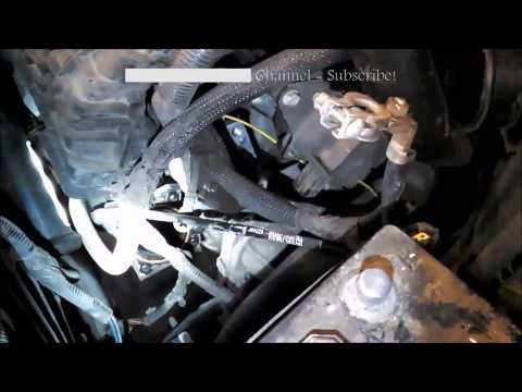 Starter replacement Dodge Caliber 2007-2012 1.8L 2.0L 2.4L Jeep  Install Remove Replace