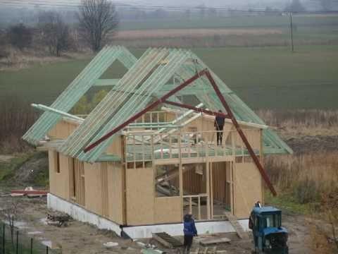 Budowa Domu Cz 2 Stan Surowy Otwarty Film Poklatkowy