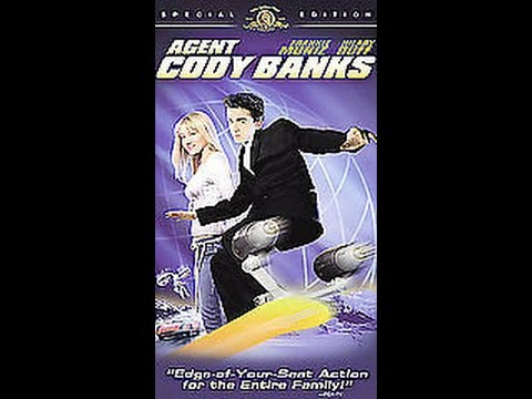 Opening To Agent Cody Banks 2003 VHS