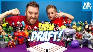Video Super Hero Toys Shake Rumble DRAFT 6 - The LEGO Batman Movie, Angry Birds, Pokemon & Sonic | KIDCITY MP3, 3GP, MP4, WEBM, AVI, FLV Juni 2018
