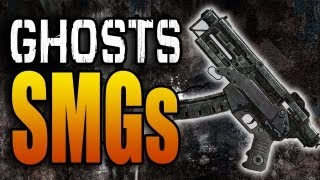 SMGs In Call Of Duty Ghosts: Vepr, Bizon PP-19, Vector (COD Ghost Submachine Guns Weapons Class)