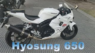 7. Review Hyosung 650 GTR 2012