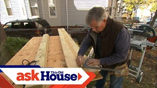 Video How to Build Porch Stairs | Ask This Old House MP3, 3GP, MP4, WEBM, AVI, FLV Agustus 2019
