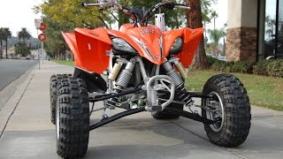 4. 2014 Yamaha YFZ450R Blaze Orange