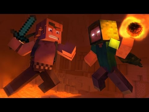 """Take Back the Night"" – A Minecraft Original Music Video"