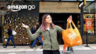 Video Inside the NEW Amazon Go Cashierless Store! MP3, 3GP, MP4, WEBM, AVI, FLV Februari 2018