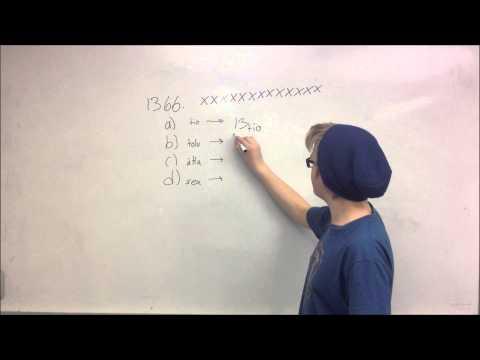 Talsystem med olika baser  Uppgifter
