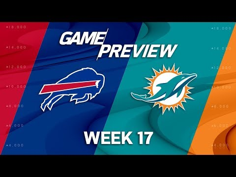 Video: Buffalo Bills vs. Miami Dolphins | NFL Week 17 Game Preview | NFL Total Access