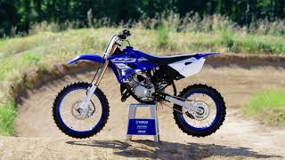 8. 2019 Yamaha motocross range tested - two-strokes from YZ65 and YZ85 to the new YZ250F and YZ450F
