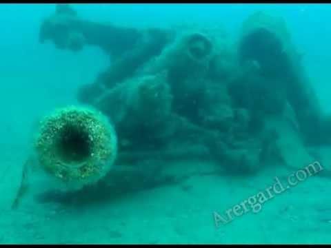 На дне Черного моря найдена немецкая зенитная пушка Flak-38