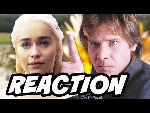 Game Of Thrones  Emilia Clarke In Star Wars Han Solo Reaction