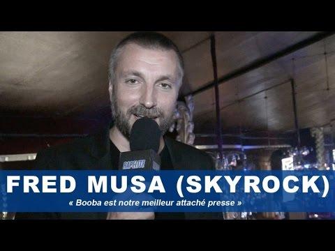 notre - Fred de Skyrock : «Booba est notre meilleur attaché presse» Invité à la cérémonie des Trace Urban Music Awards Fred Musa, animateur de Skyrock a répondu aux questions de Rapelite.com....