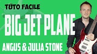 """Big Jet Plane"" -  Angus & Julia Stone - Tuto Guitare Facile"