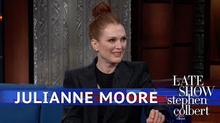 Video Julianne Moore: It's Important To Embarrass Your Kids MP3, 3GP, MP4, WEBM, AVI, FLV Mei 2019