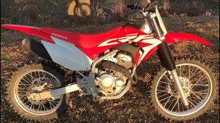 4. The New 2020 Honda CRF250F (Review and walk though)