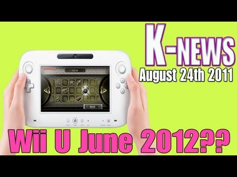 preview-NEWS: Wii U leaked release date June 2012 & Kirby\'s Return to Dreamland October 24th (Kwings)