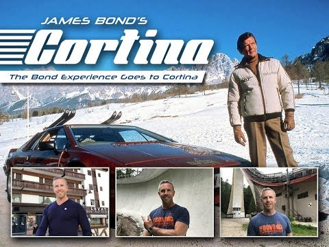 Walking in James Bond's Footsteps in Cortina, Italy