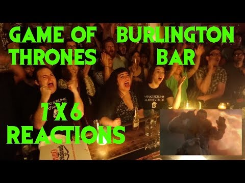 GAME OF THRONES Reactions at Burlington Bar /// 7x6 THAT SCENE \\\\\\ (видео)