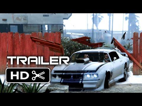 VIDEO: Fanoušci GTA Online vytvořili suprový filmový trailer