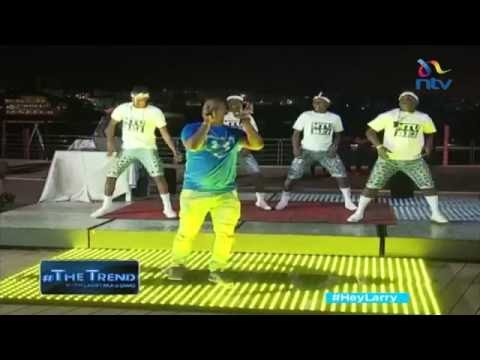 #theTrend: Susumila And His Vunja Stage Dancers Perform