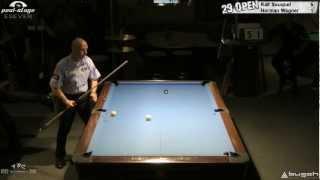 Ralf Souquet Vs Christian Wagner At Twenty Nine 9-Ball Open 2012, Pool-Billard