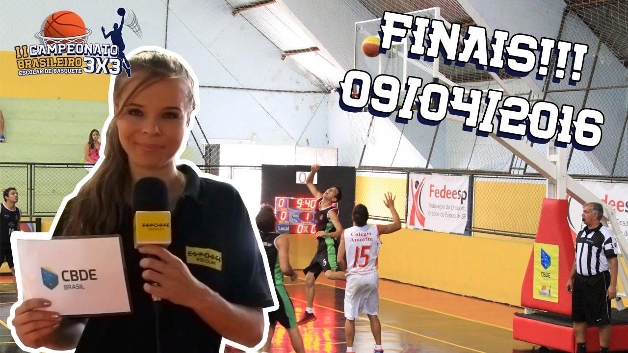 Brasileiro de Basquete 3x3: Final II Camp Bras Escolar de Basquete 3x3
