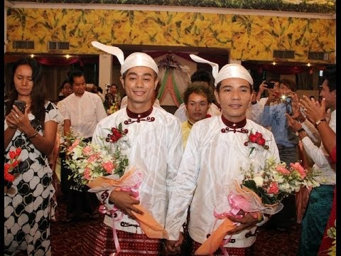 A love story for 21st century Burma:  Earlier this month, Burmese newspapers and journals ran wild with the news that Burma had seen its first gay wedding. But Myo Min Htet and Tin Ko Ko, who held the celebration, said the story was exaggerated.