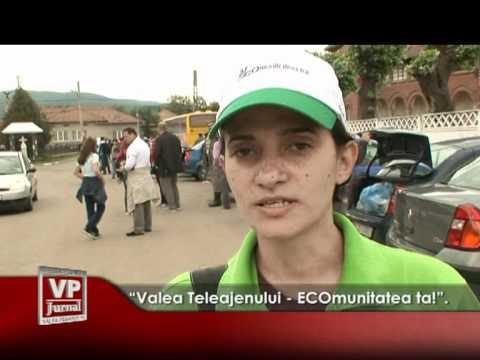 """Valea Teleajenului – ECOmunitatea ta!""."