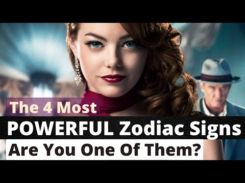 Sign the zodiac what powerful is most What is