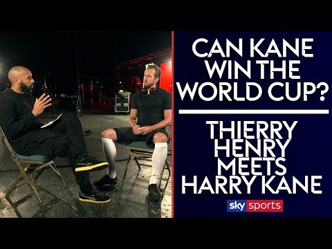 Can Harry Kane win England the World Cup? | Thierry Henry meets Harry Kane |