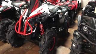 5. 2017 Renegade X MR 570 Can AM BRP Review & Walk Around