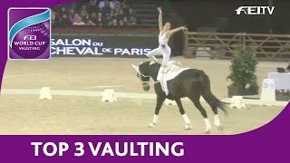 Top 3 - FEI World Cup™ Vaulting 12/13 - Paris