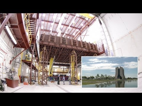 Watch Fermilab's Astoundingly Massive Neutrino Detector Being Built