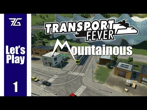 Transport Fever - Mountainous Ep 1 Scenic Runs (видео)