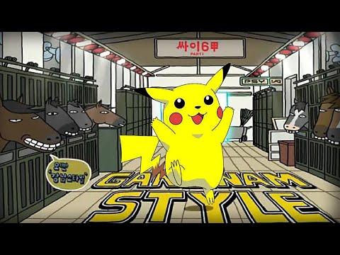 Oppa Pika Style – PSY – GANGNAM STYLE (강남스타일) PARODY!